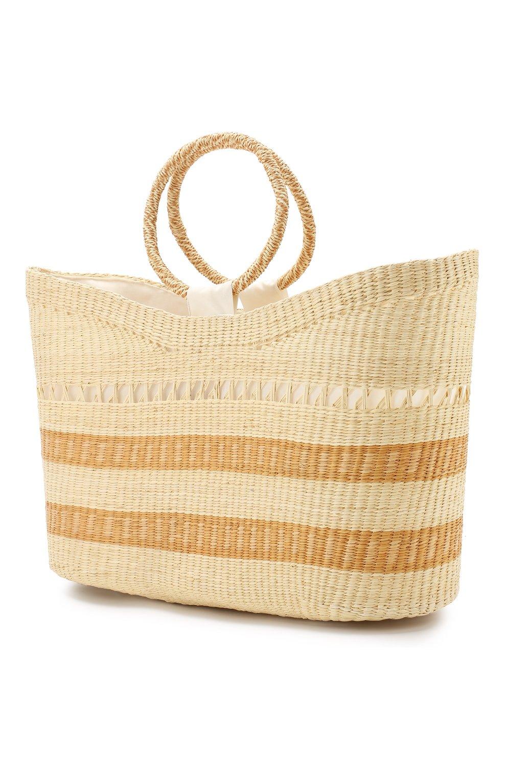 26849db3d4b7c Пляжная сумка SENSI STUDIO светло-бежевого цвета — купить за 21500 ...