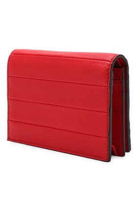 Кожаное портмоне Valentino Garavani Valentino красного цвета | Фото №2