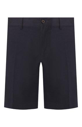 Мужские хлопковые шорты RALPH LAUREN темно-синего цвета, арт. 790595674 | Фото 1