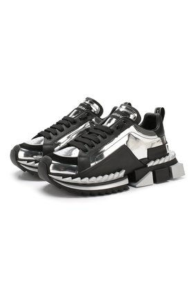 Комбинированные кроссовки Super King | Фото №1