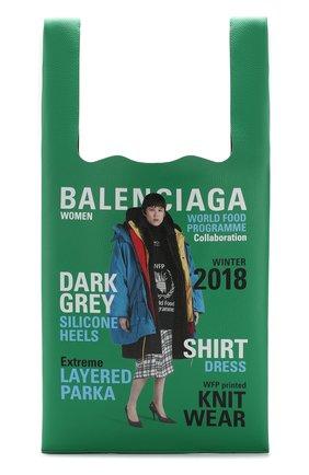 Кожаная сумка-шоппер Winter 18 Campaign Supermarket | Фото №1