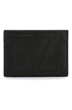 Кожаный футляр для кредитных карт Valentino Garavani   Фото №1