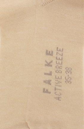 Женские носки breeze so FALKE бежевого цвета, арт. 46125_1_ | Фото 2