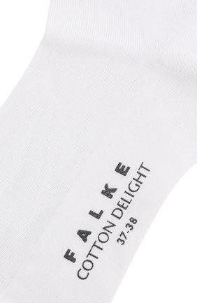 Женские носки cotton delight FALKE белого цвета, арт. 47535_ | Фото 2