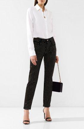 Женские джинсы со стразами DOLCE & GABBANA черного цвета, арт. FTAIAZ/G895Z | Фото 2