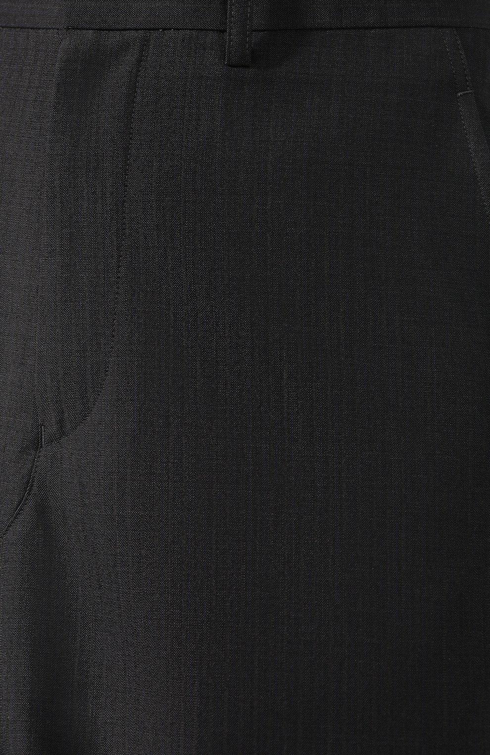 Шерстяная юбка Junya Watanabe темно-серая | Фото №5