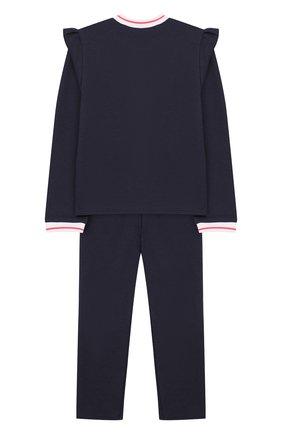 Детский комплект из кардигана и брюк MARC JACOBS (THE) темно-синего цвета, арт. W08063/2A-3A | Фото 2