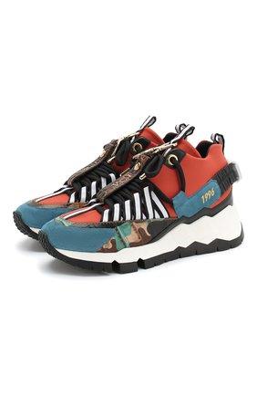 Комбинированные кроссовки Victor Cruz x Pierre Hardy V.C.I. | Фото №1