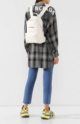 Женский рюкзак everyday BALENCIAGA белого цвета, арт. 552379/DLQ4N | Фото 2