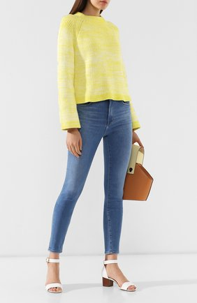 Женские джинсы-скинни J BRAND синего цвета, арт. JB001697/B | Фото 2