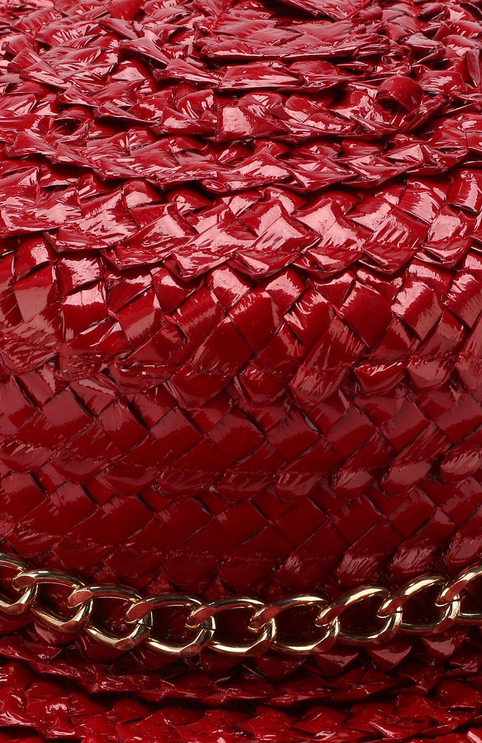 Женская кепи sabrina  EUGENIA KIM красного цвета, арт. 21206-53219 | Фото 3