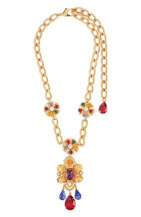 Колье Dolce & Gabbana золотое | Фото №1