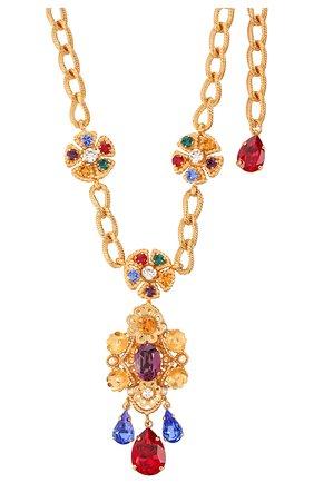 Колье Dolce & Gabbana золотое | Фото №2