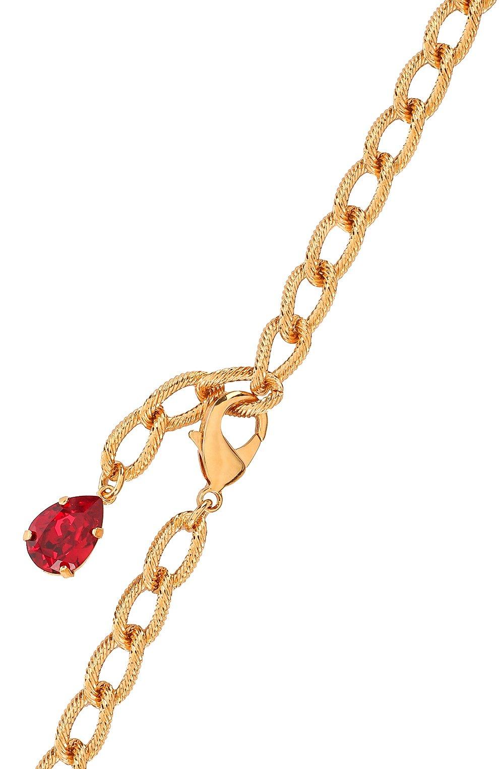 Колье Dolce & Gabbana золотое | Фото №3