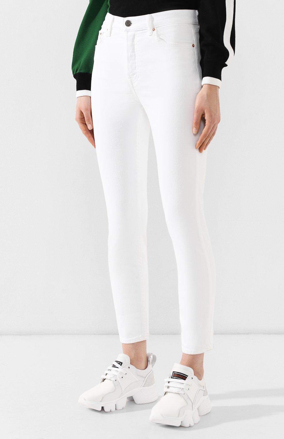 79f5c6d1496 Женские белые джинсы GRLFRND — купить за 17450 руб. в интернет ...