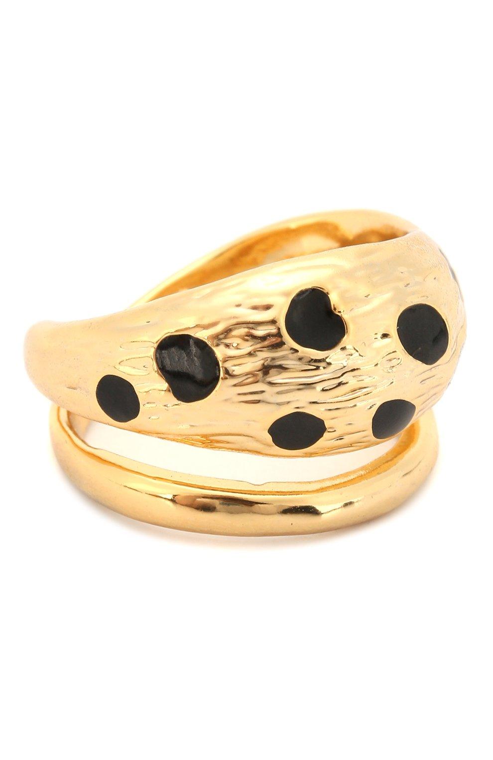 Женское кольцо REJINA PYO золотого цвета, арт. RP-R001 | Фото 1