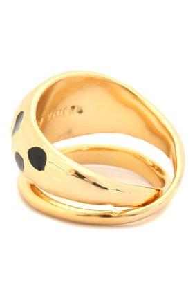 Женское кольцо REJINA PYO золотого цвета, арт. RP-R001 | Фото 2