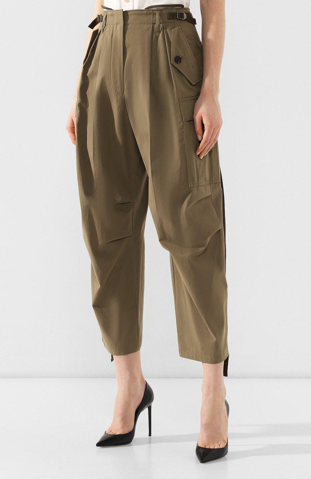 Хлопковые брюки | Фото №3