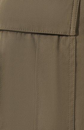 Хлопковые брюки | Фото №5