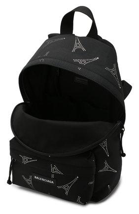 Рюкзак Explorer Balenciaga черный | Фото №4