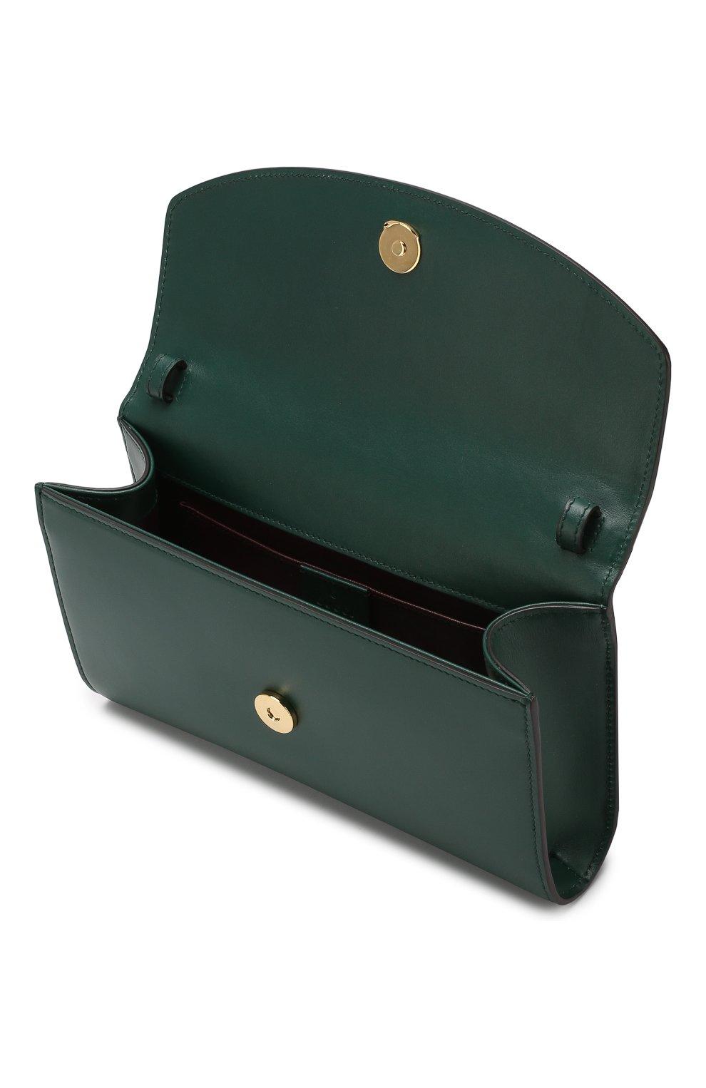 Сумка Gucci Zumi small Gucci зеленая цвета   Фото №4