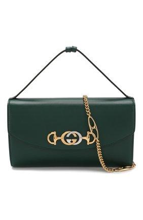 Сумка Gucci Zumi small Gucci зеленая цвета   Фото №6