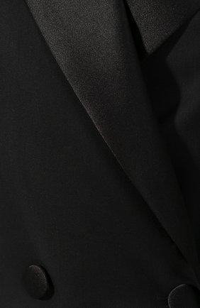 Двубортное пальто из шерсти | Фото №5