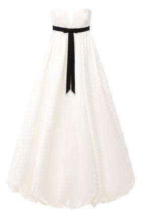 Шелковое платье-макси   Фото №1