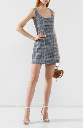 Хлопковое мини-платье | Фото №2