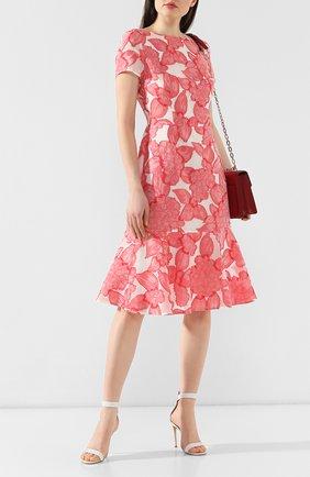 Женское платье-миди ESCADA розового цвета, арт. 5030141 | Фото 2