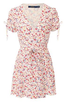 Мини-платье с запахом | Фото №1