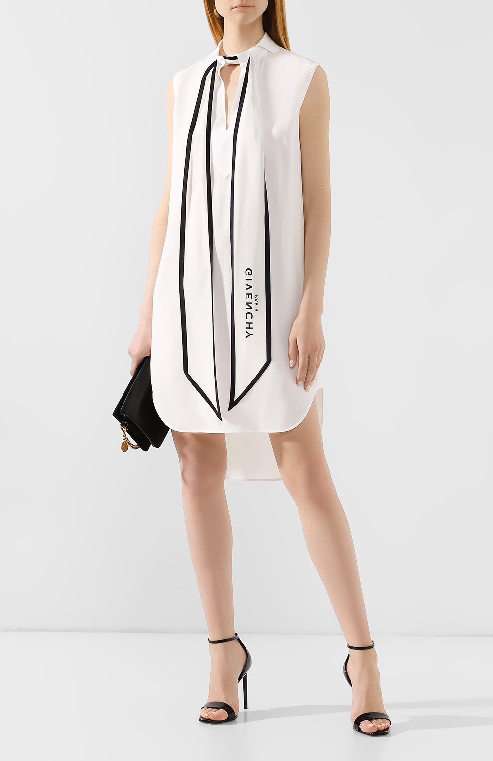 Мини-платье Givenchy белое | Фото №2