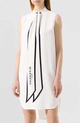 Мини-платье Givenchy белое | Фото №3