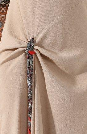 Платье из смеси вискозы и шелка   Фото №5