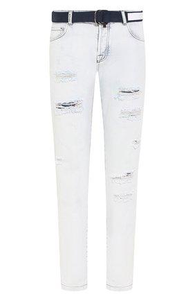 Мужские джинсы KITON светло-голубого цвета, арт. UPNJS/UPNJSL07R68 | Фото 1