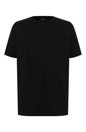 Мужская хлопковая футболка KNT черного цвета, арт. UMS0106K06R4 | Фото 1