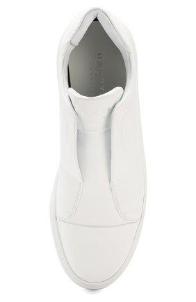 Мужские кожаные кеды croc tube HARRYS OF LONDON белого цвета, арт. TUBE TECH LEATHER   Фото 5