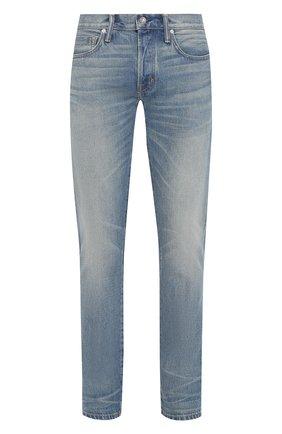 Мужские джинсы TOM FORD синего цвета, арт. BSJ11/TFD002 | Фото 1