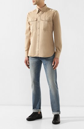 Мужские джинсы TOM FORD синего цвета, арт. BSJ11/TFD002 | Фото 2