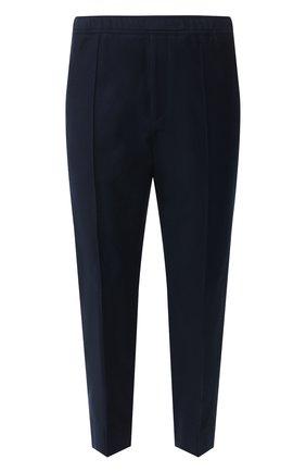 Мужской хлопковые брюки GUCCI темно-синего цвета, арт. 521882/Z344H | Фото 1