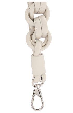 Женские кожаный ремень для сумки TOD'S белого цвета, арт. XAWMNGQC000RLX | Фото 2