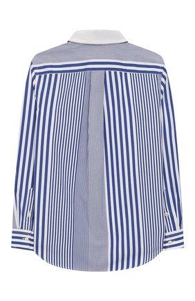 Детская хлопковая рубашка POLO RALPH LAUREN голубого цвета, арт. 321737263 | Фото 2
