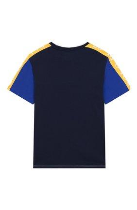 Детская хлопковая футболка POLO RALPH LAUREN разноцветного цвета, арт. 323738511 | Фото 2