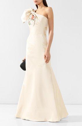 Шелковое платье-макси | Фото №2