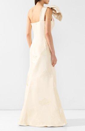Шелковое платье-макси | Фото №4