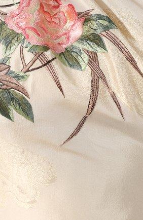 Шелковое платье-макси | Фото №5