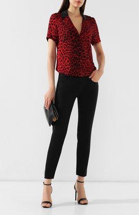 Женские джинсы MOUSSY черного цвета, арт. 025CSC11-2440 | Фото 2