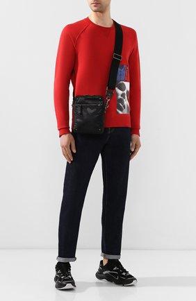 Текстильная сумка-планшет Valentino Garavani | Фото №2