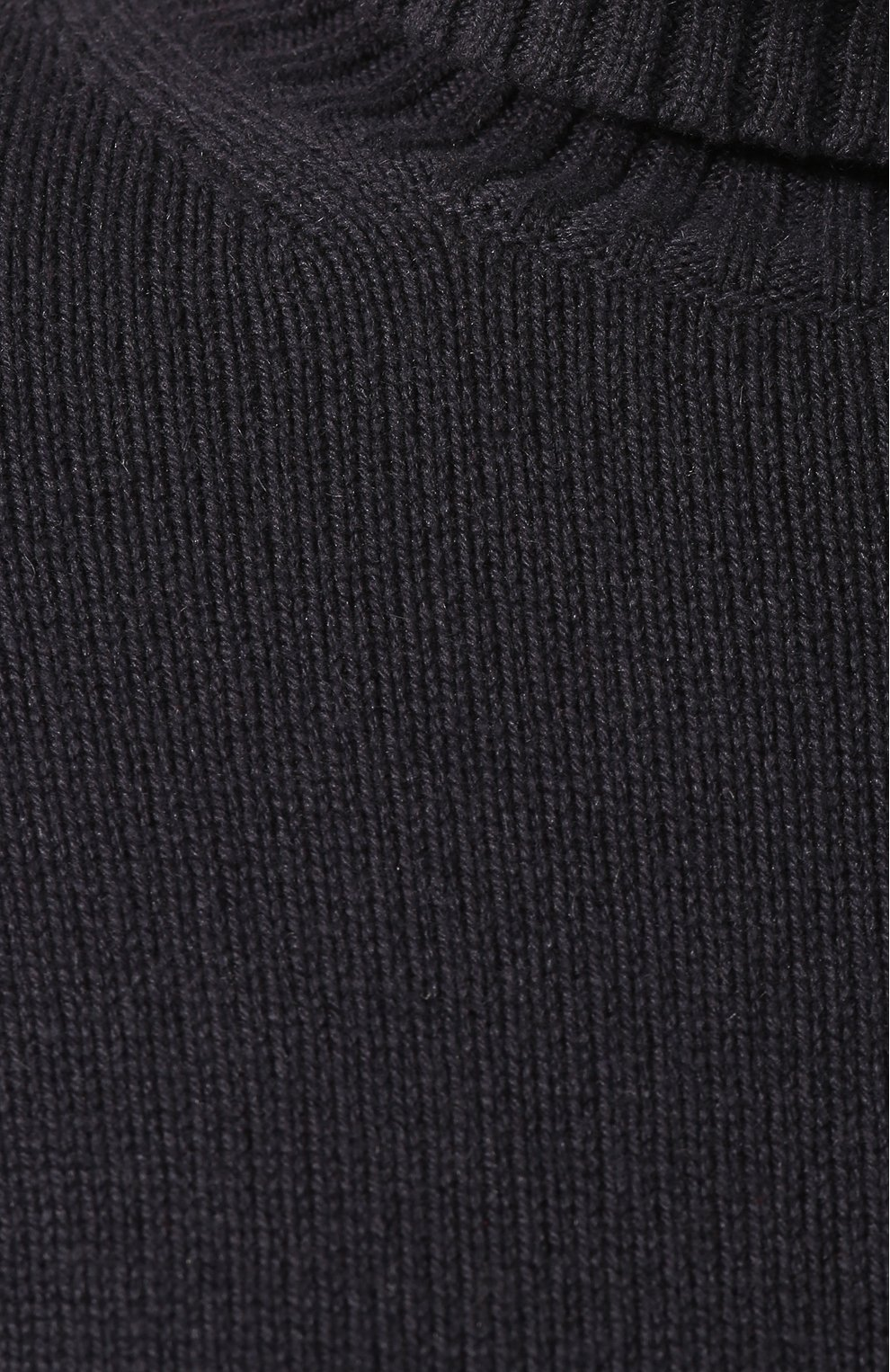 Женская кашемировая водолазка LORO PIANA темно-серого цвета, арт. FAG3537 | Фото 5