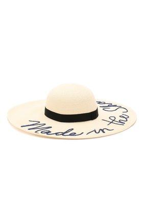 Шляпа Bunny Eugenia Kim кремвого цвета   Фото №2